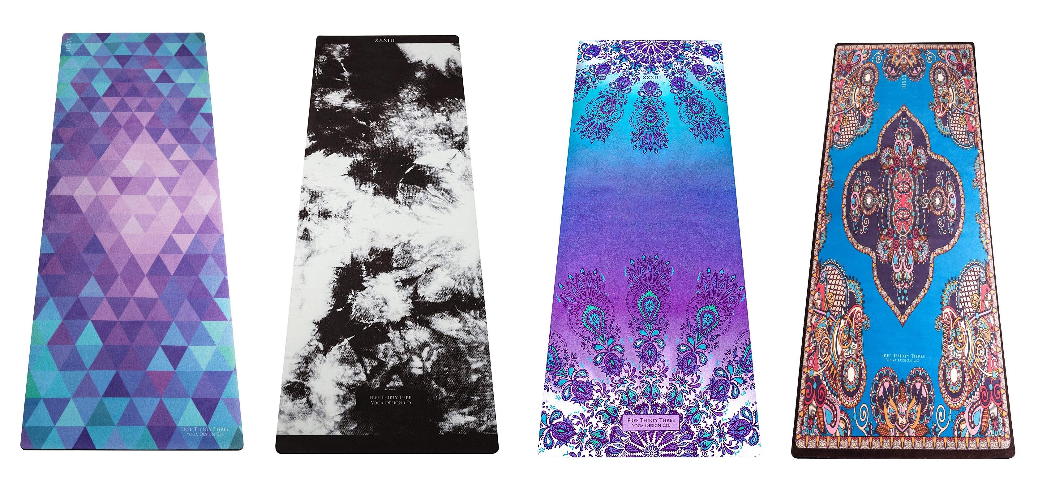 free thirty three yoga mat designs