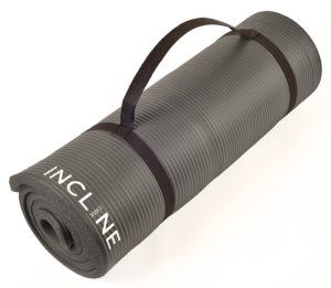 inclinefit extra thick yoga mat