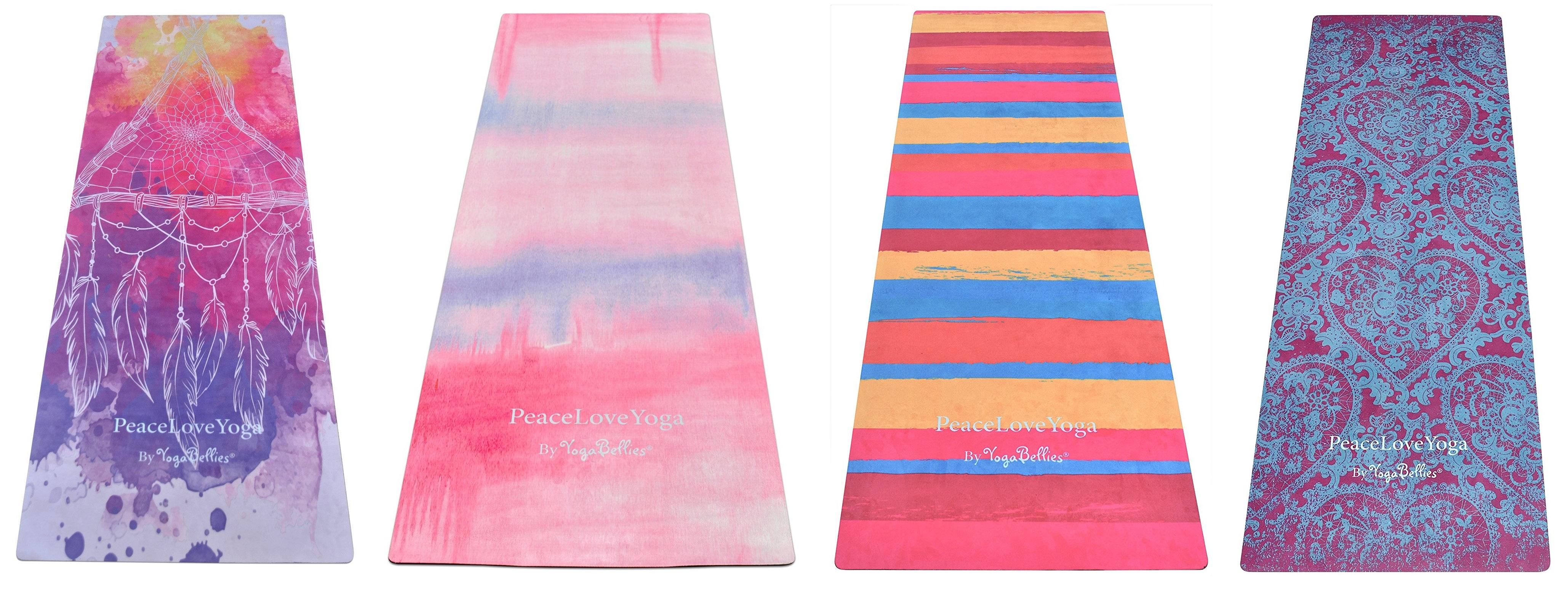 peaceloveyoga pretty yoga mat
