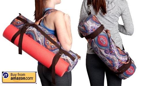 kindfolk yoga mat bag carrier
