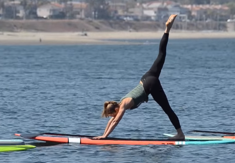 An Introduction to Stand Up Paddle Board Yoga
