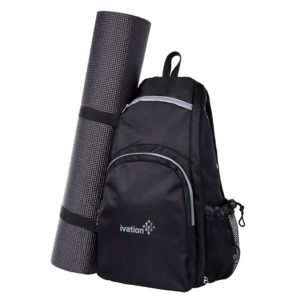ivation yoga mat backpack