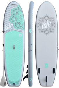 ISLE airtech paddle board for SUP yoga