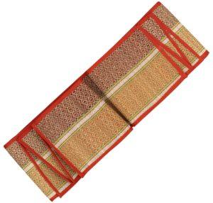 straw floor yoga mat