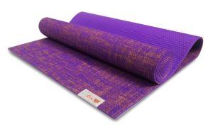 yogimall natural jute pvc yoga mat