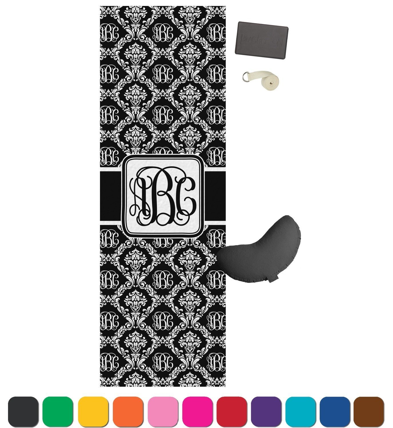 Monogrammed Yoga Mat Review